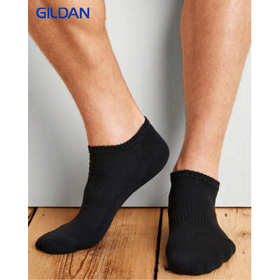 Gildan Platinum Mens No Show Socks Colours GP-711_COLOURS_GILD